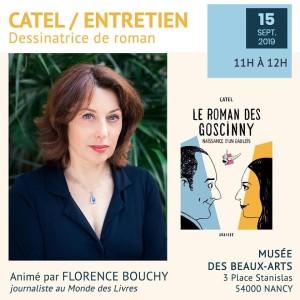 CATEL  MUSEE DES BEAUX ARTS DE NANCY