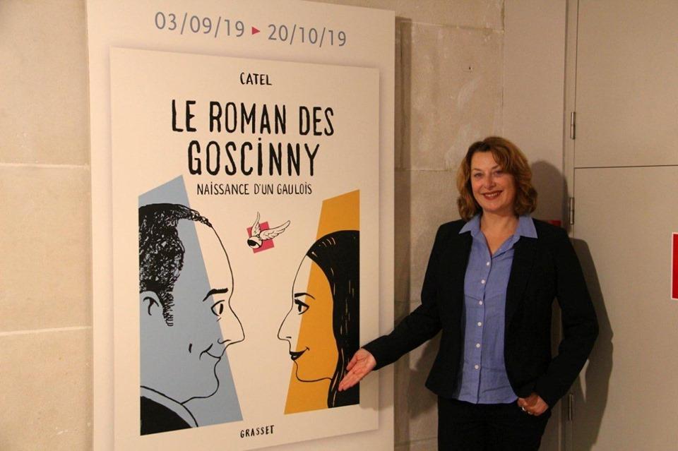 Expo Le Roman de Goscinny à Bruxelles