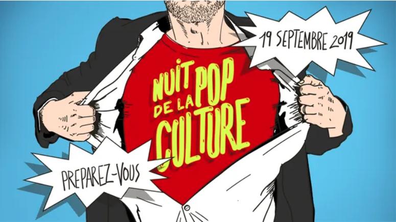La Nuit de la Pop Culture à Paris